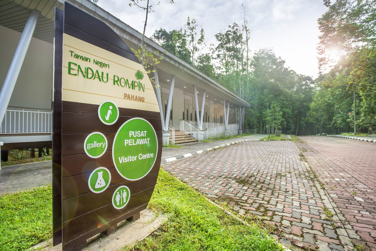 Rainforest Discovery Centre Visitor Complex at Taman Negeri Rompin Pahang